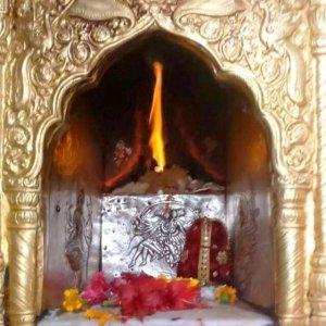 flame at Jwala Ji Temple