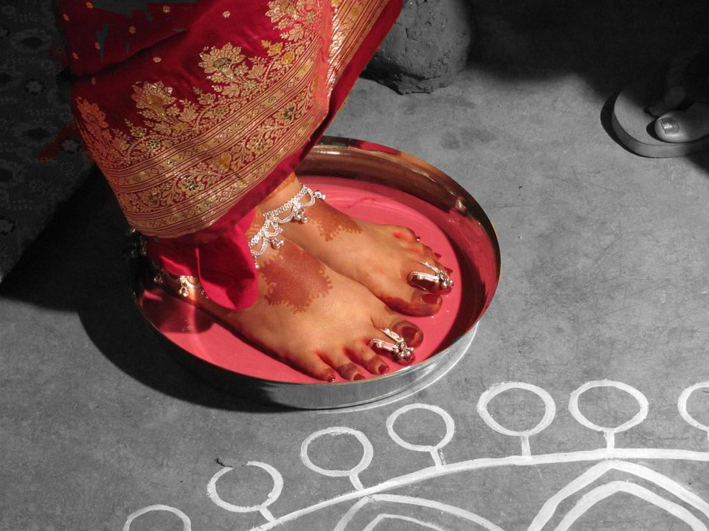 Toe Rings- married women's ornaments