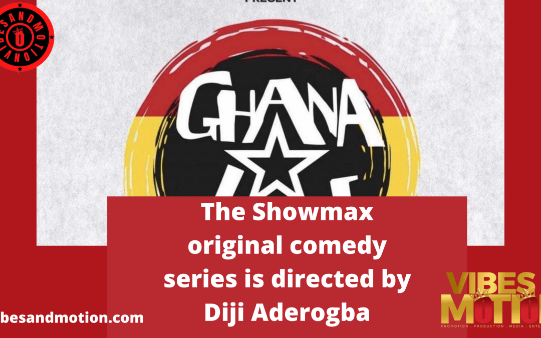 A first-look is out! Meet the cast of new Basketmouth created Showmax comedy series 'Ghana Jollof'