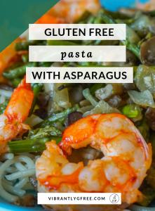 Pasta and Asparagus Recipe Pin 2