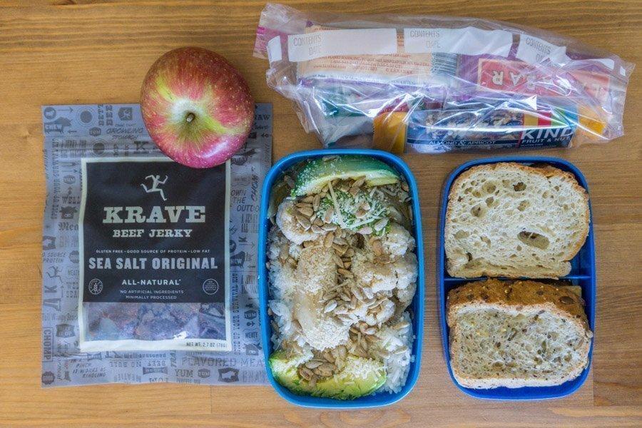 Gluten free travel food 1