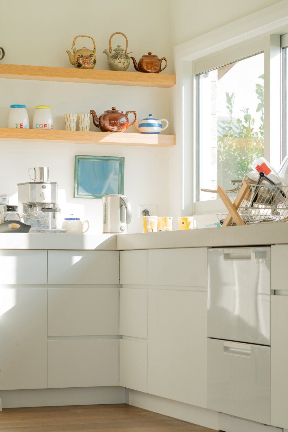 Bright and sunny gluten free kitchen