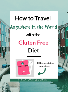 Gluten Free Travel PIN 2