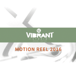 Motion Graphics - Vibrant Studio Reel 2016