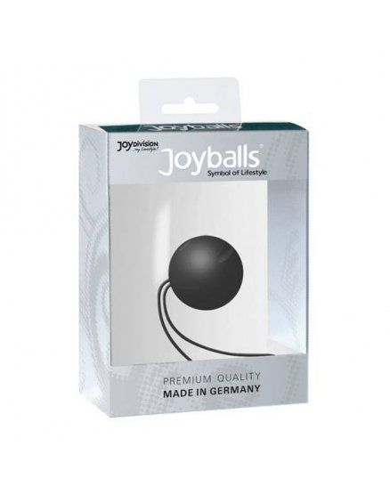 BOLAS CHINAS SINGLE NEGRA -JOYBALLS para ejercicios kegel en vibrashop