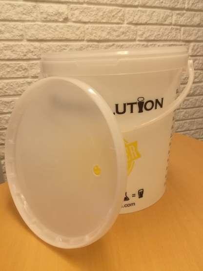 Gærspand 16 liter med låg
