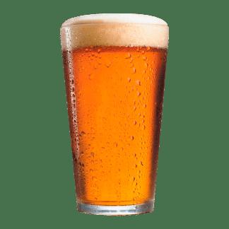 Øl i glas
