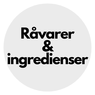 Råvarer og ingredienser
