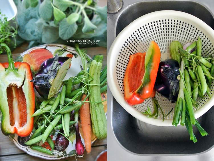Healthy and tasteful recipes with vegetables @vicaincucina