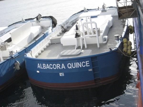 Panga para pesca de cerco de 12 metros de eslora