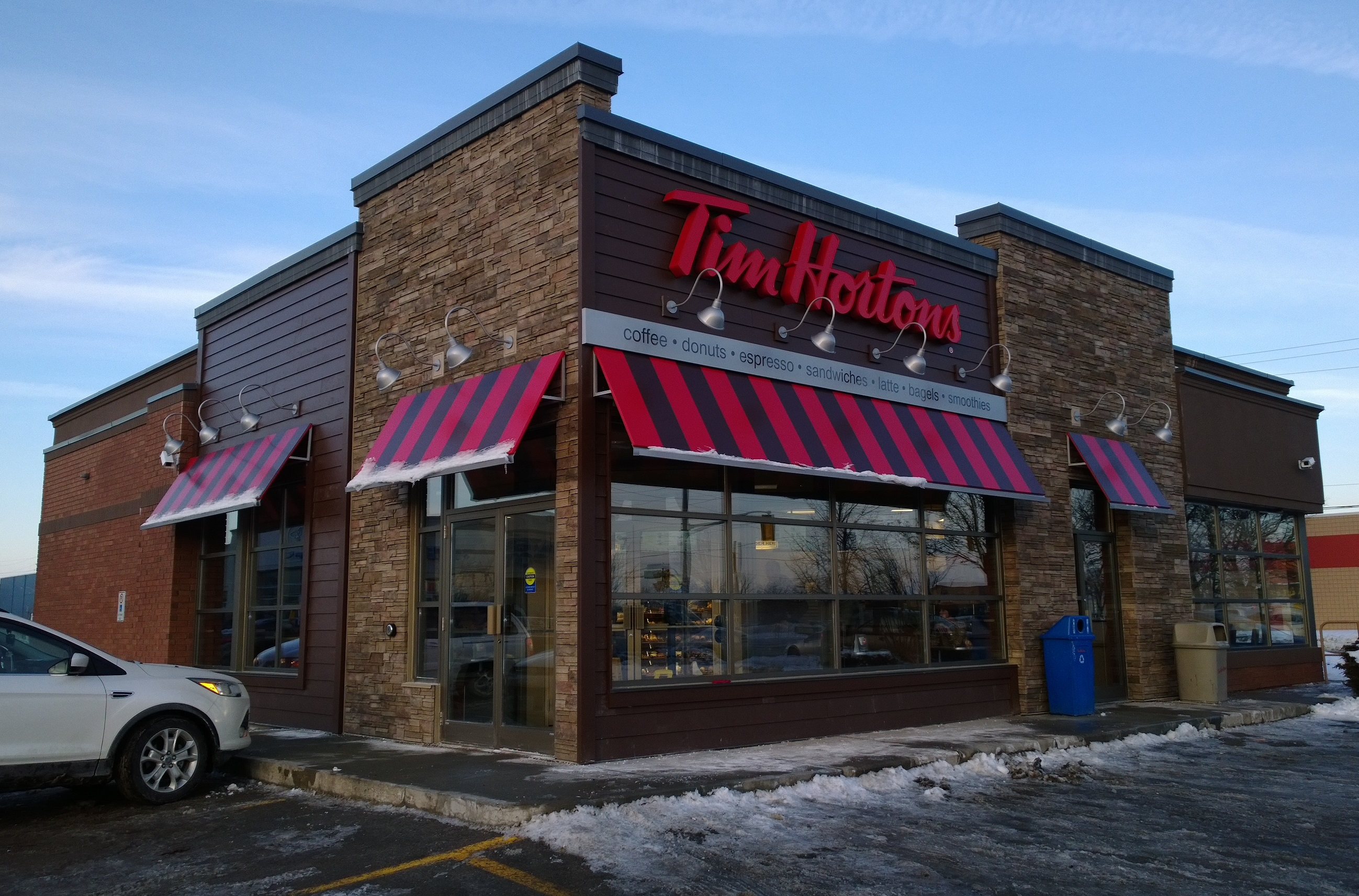 Tim Hortons LEED Store Ancaster ON Vicano