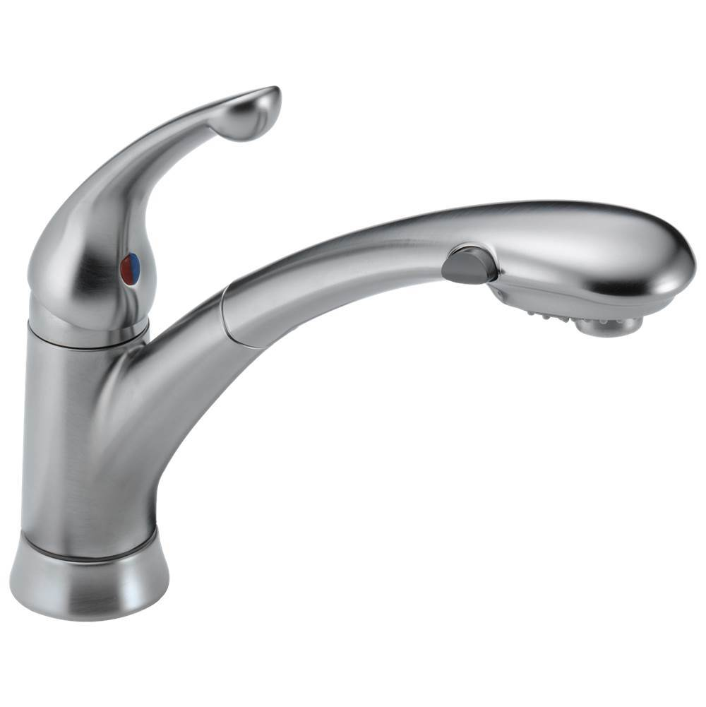 signature pullouts single handle pull out kitchen faucet