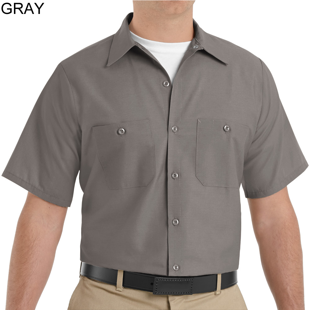 Work Sleeve Tan Short Shirt