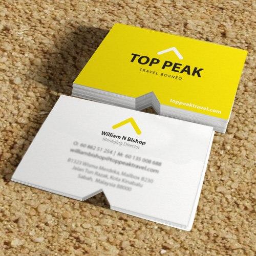 Top Peak Travel Borneo Branding Project