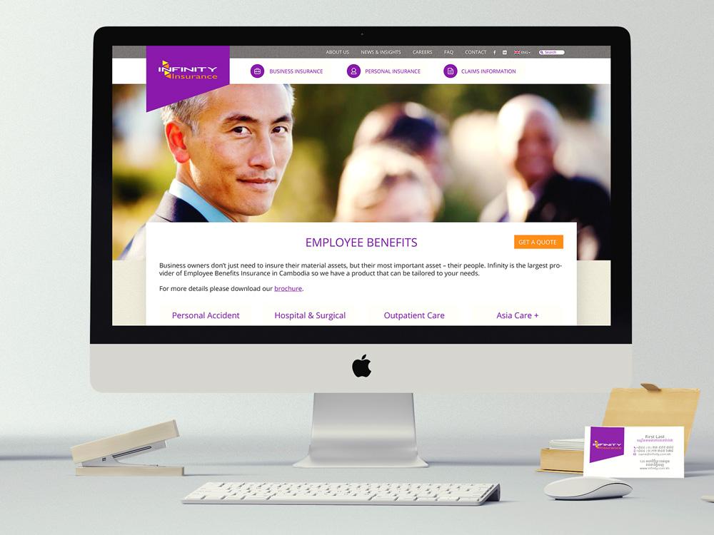 Infinity Insurance Site Design