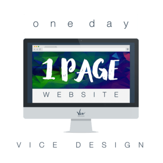 One Day One Page Product - Vice Design Co.