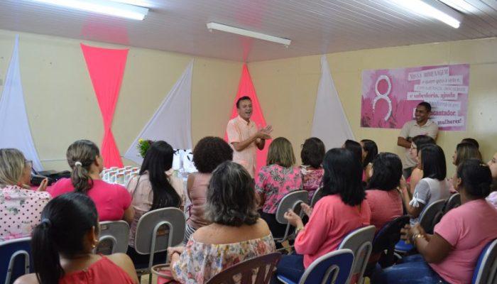 Secretaria Municipal de Educação celebra dia Internacional da Mulher em Vicência