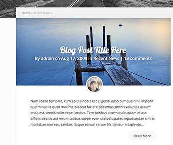 post blog resumo