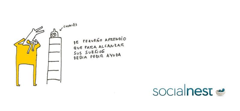 De como Socialnest te ayudará a conseguir tus objetivos como emprendedor social.