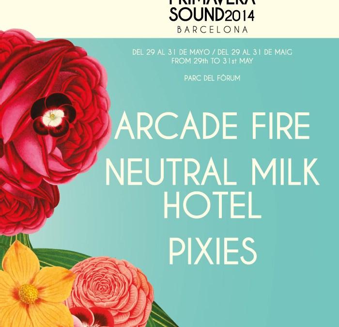Cartel Primavera Sound 2014 (posible)