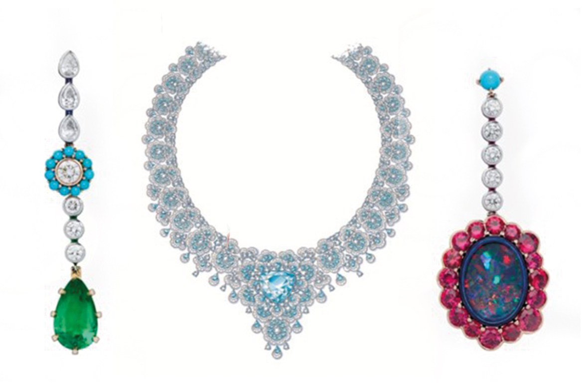 Diamonds to be set and limited editions