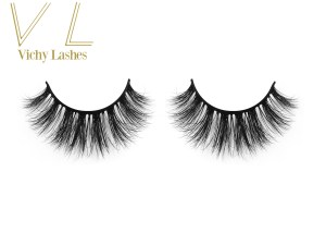 customized 3d invisible band mink lashes factory