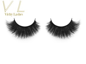False Eyelash Private Label Siberian Real Mink Lash With Customized Packagev