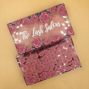 Custom Red Rose Lash Cases