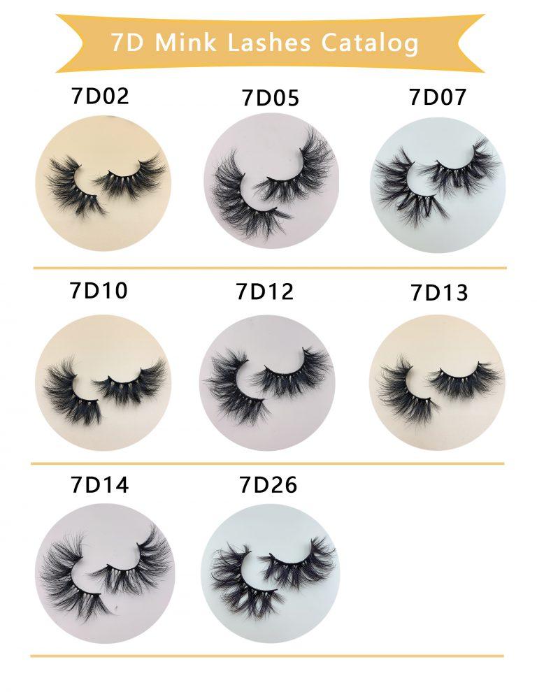 7D Mink Eyelash Wholesale
