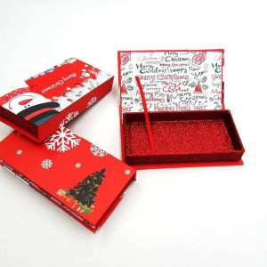 Custom Eyelash Boxes for Christmas