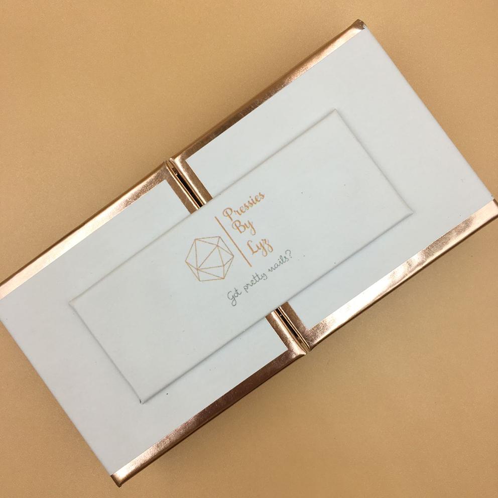 Create Your Own Eyelash Packaging Box