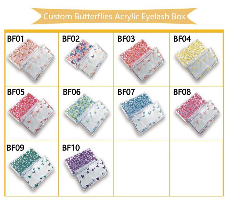 Butterflies Lash Cases
