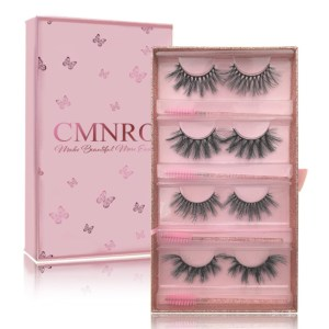 4pairs Faux Mink Lashes Pack