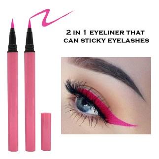 Pink Color Eyeliner Glue Pen