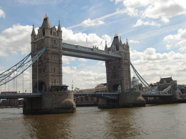 Tower Bridge, em Londres. Foto: Marcelle Ribeiro