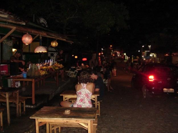 A noite em Itacaré. Foto: Marcelle Ribeiro