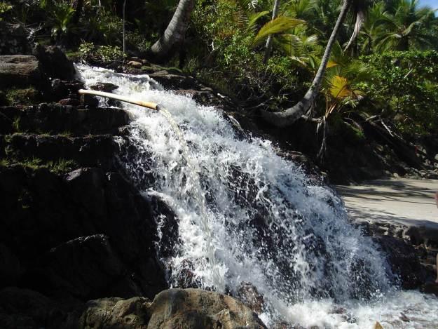 Cachoeira em Itacaré. Foto: Marcelle Ribeiro