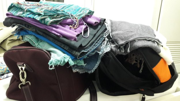 Que roupas levar? Ó, dúvida cruel!