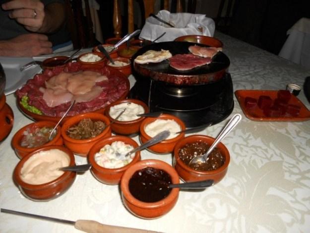 onde comer em gramado fondue