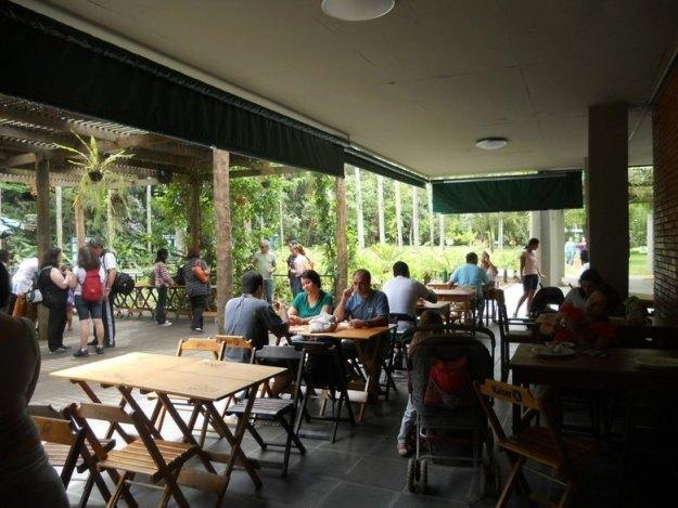 o que fazer no jardim botanico sp restaurante