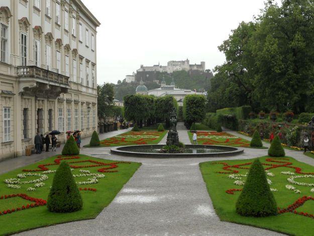Jardins do castelo Mirabell