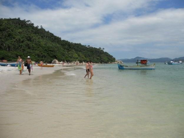 melhores praias de florianopolis ilha do campeche