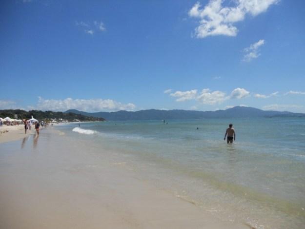melhores praias de florianopolis jurere