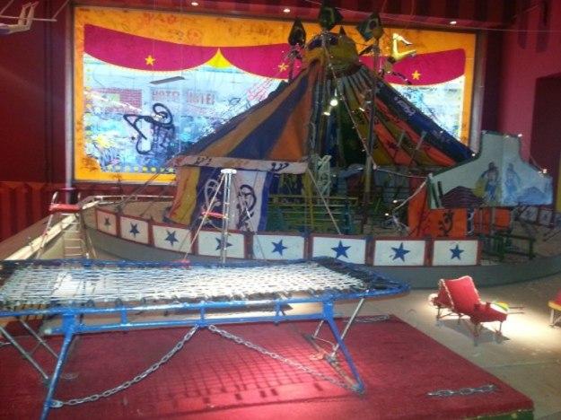 museu do circo maquete