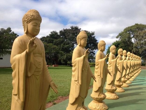 Templo budista de Foz do Iguaçu. Foto: Marcelle Ribeiro.