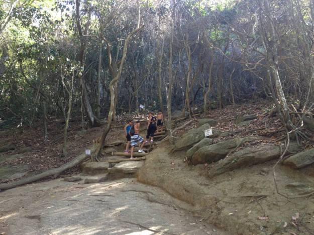 trilha morro da urca