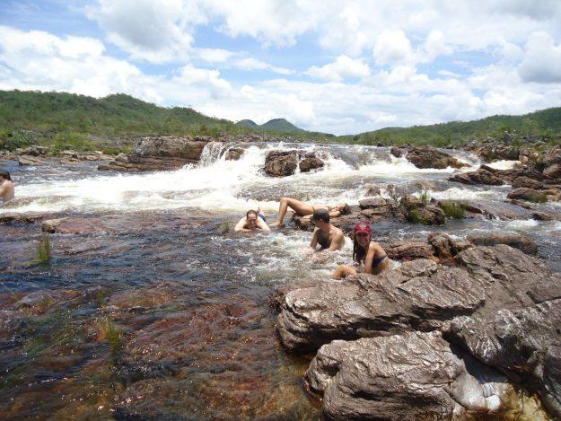 parque nacional chapada dos veadeiros trilha salto