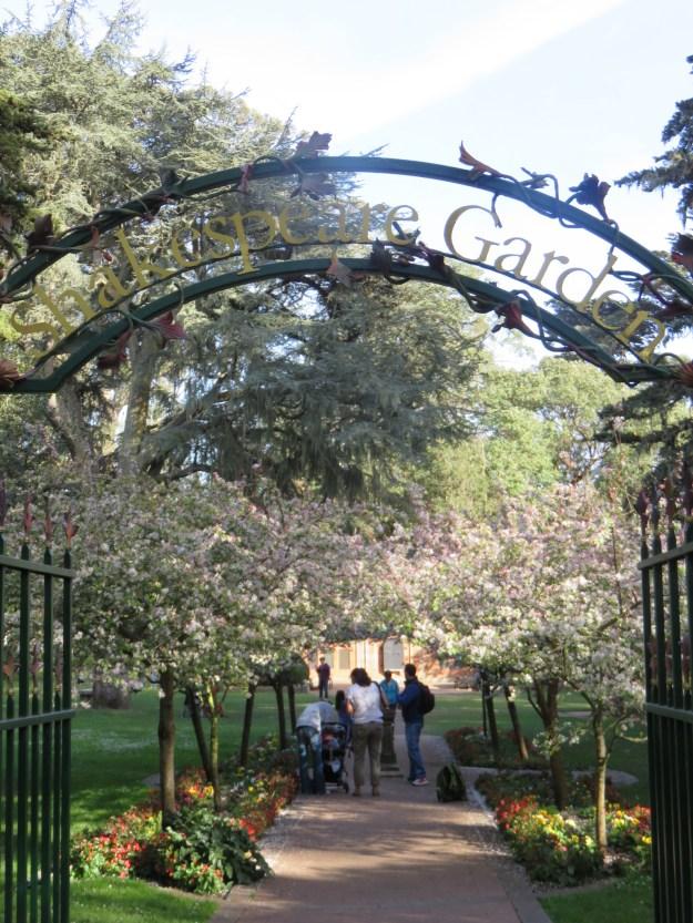 Shakespeare Garden. Foto: Marcelle Ribeiro