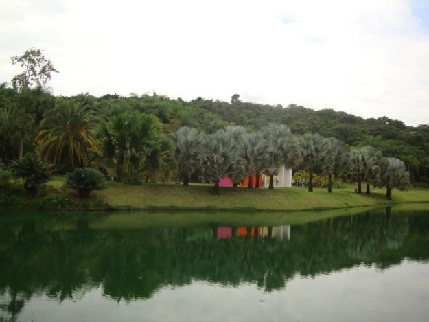 O lago do Circuito Rosa. Foto: Marcelle Ribeiro