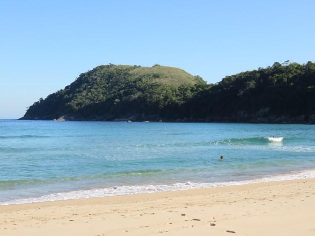 Praia de Antigos, em Paraty. Foto: Marcelle Ribeiro